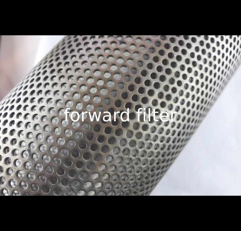 ASTM Spiral Perforated Tube Galvanized Steel Round Hole Welded Seam Durable