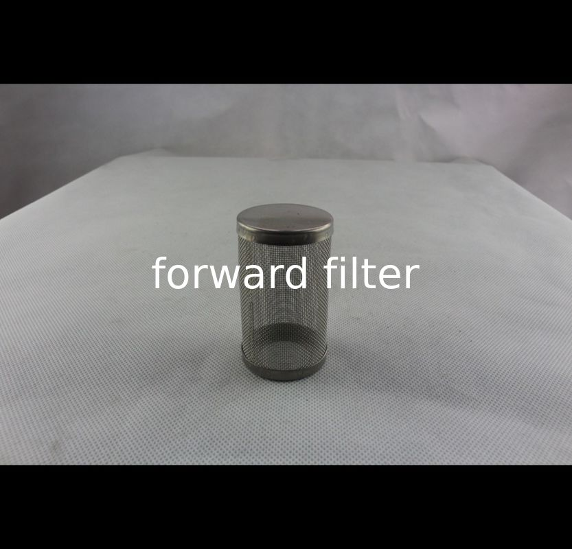Straight Welded Stainless Steel Filter Tube Industrial With ISO9001 Approved