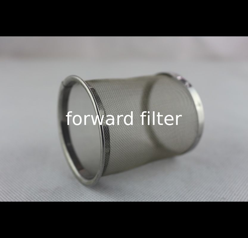304 316 Stainless Steel Mesh Tube Filter  Wire Mesh Cloth Precise Open Rate