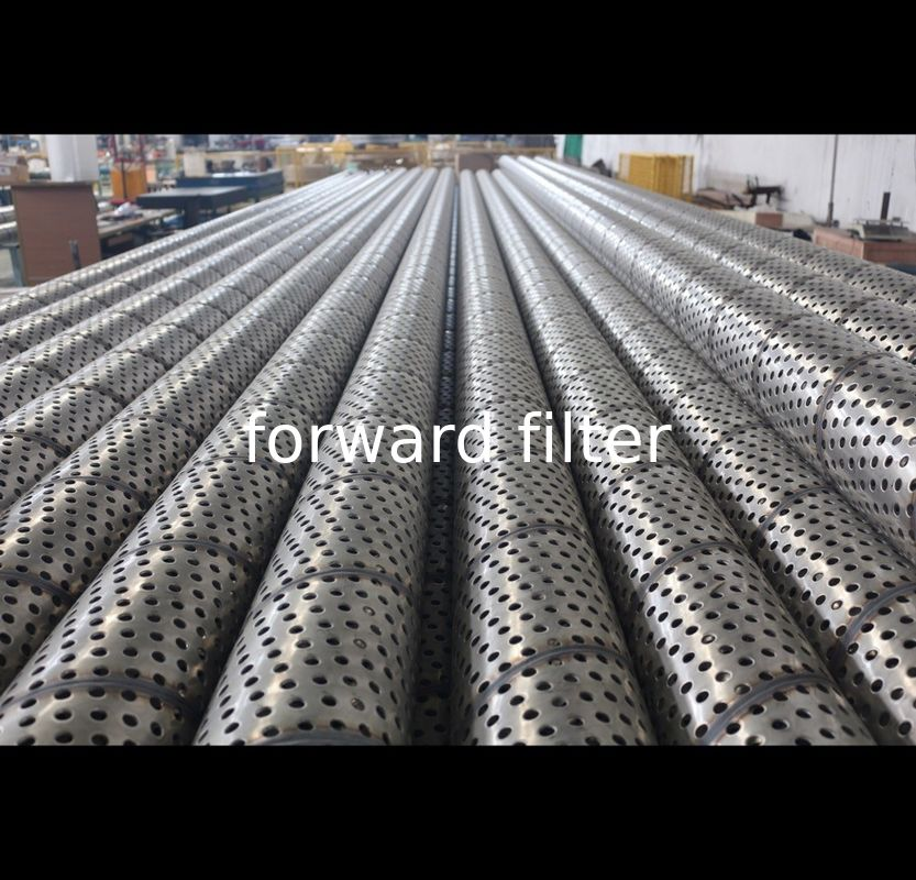 Salt Corrosion Stainless Steel Filter Tube Perforated High Strength Durable