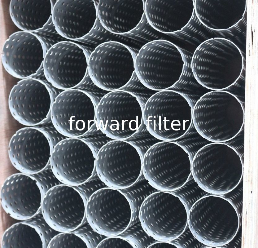 Monel Stainless Steel Mesh Tube Filter Oil Filtration For Copper Aluminium Plate