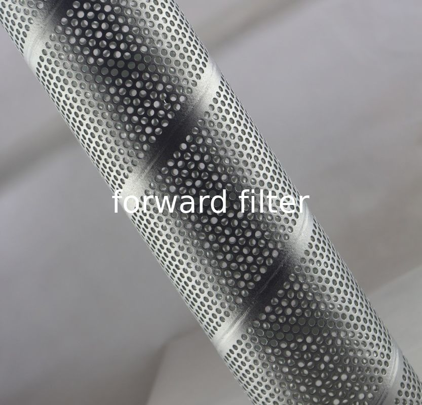 Drainage System Perforated Cylinder Customized Metal For Food Filtration Producing