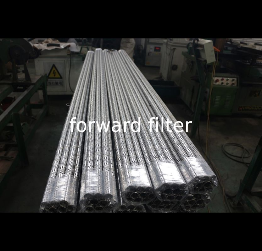 Welded Seamless Perforated Round Tubing With Optional 304 304L 316 Alloy