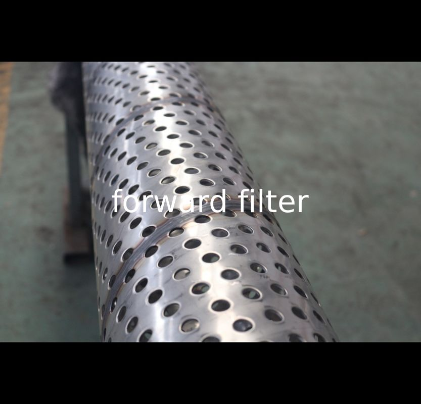 Seamless Perforated Exhaust Pipe AISI ASTM For Chemical Industry Agriculture