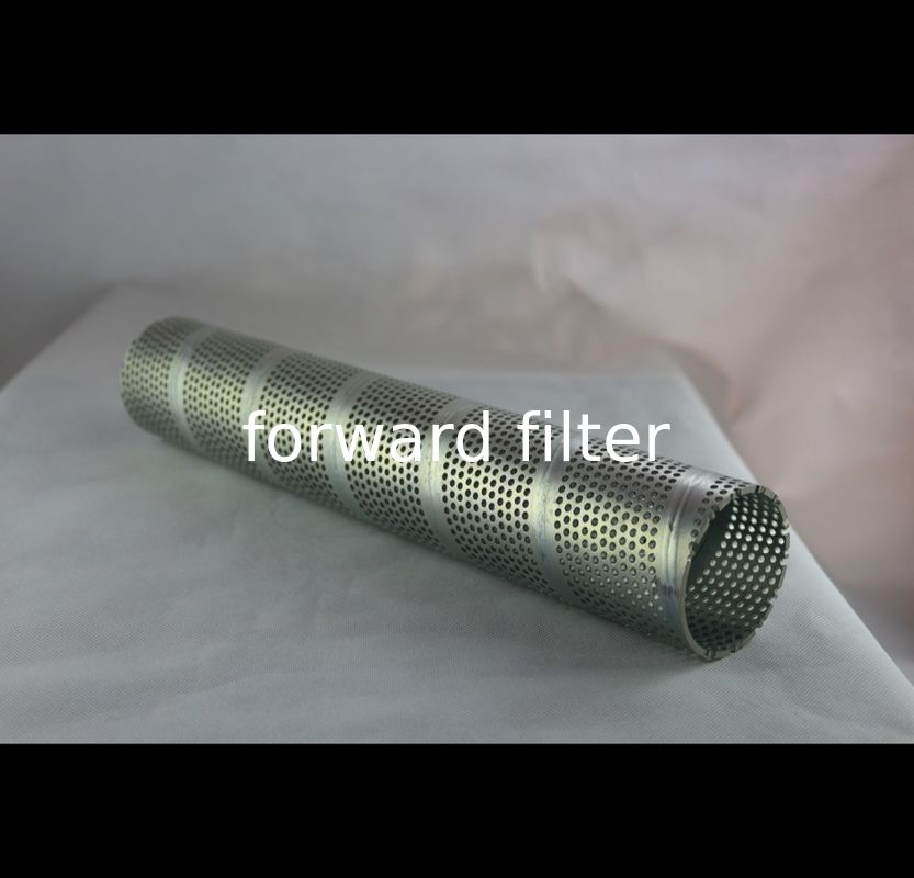 304 316 Perforated Stainless Steel Tube , Hexagonal Perforated Metal Pipe