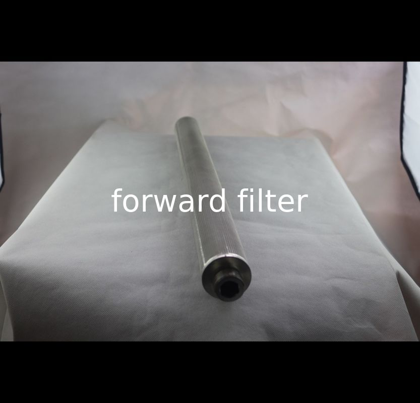 Instrument Filters Housing Perforated Stainless Tube , 316 316L Perforated Metal Pipe